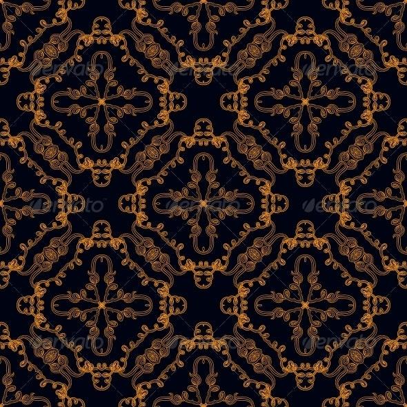 Gold Lines Pattern - Patterns Decorative