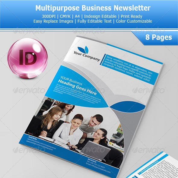 Multipurpose Business Newsletters