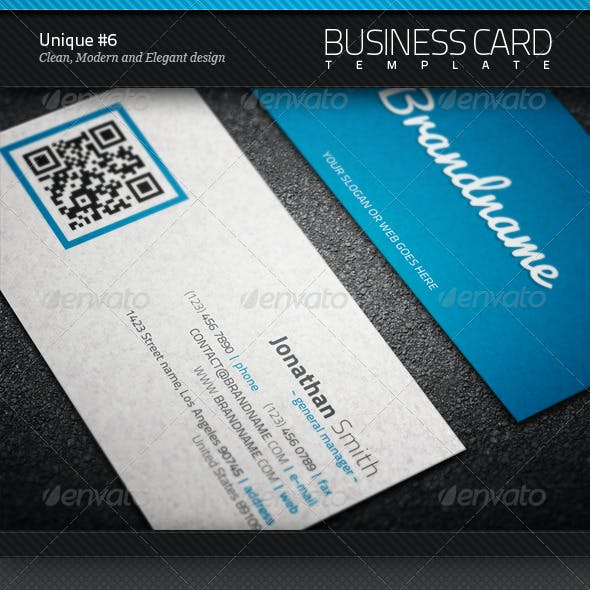 Unique Business Card #6