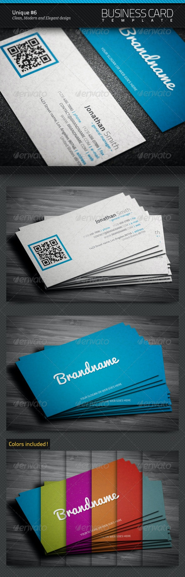 Unique Business Card #6 - Corporate Business Cards