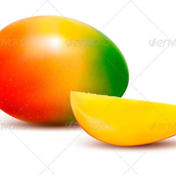 Fresh Mango - Vector