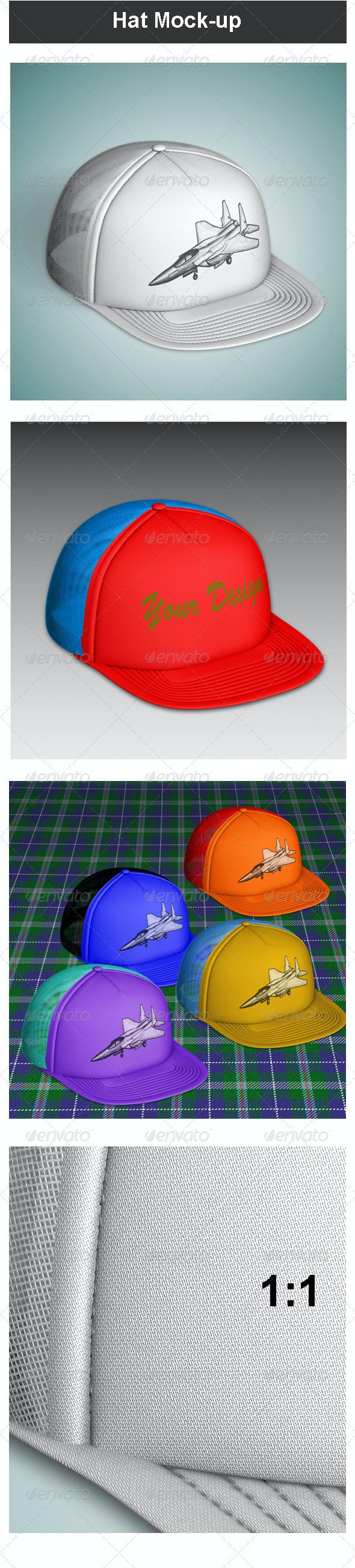 Hat Mock-up - Miscellaneous Apparel