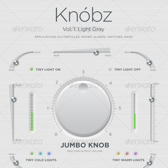 Knóbz Vol.1: Knobs, Sliders, Switches, Bars