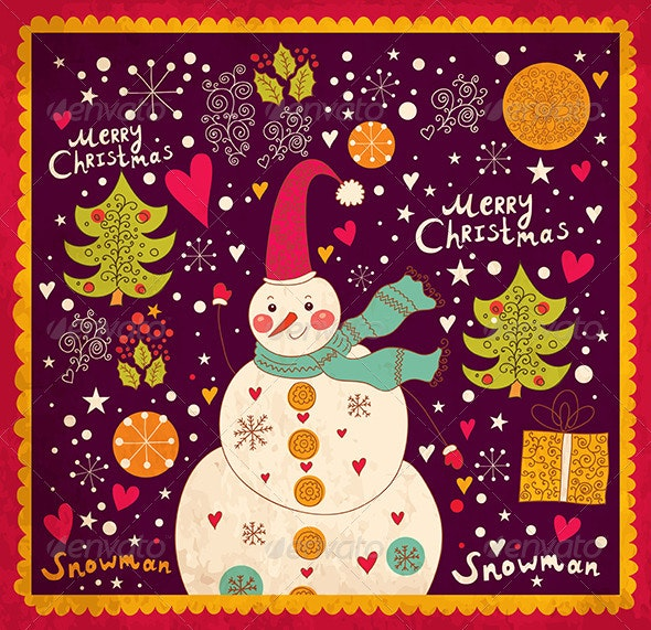 Christmas Illustration - Christmas Seasons/Holidays
