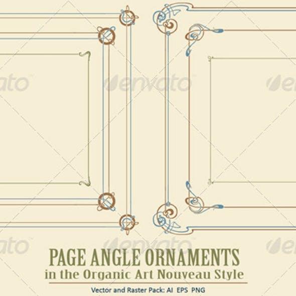 Page Angle Ornaments