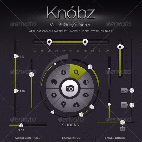 Knóbz Vol.3: Gray'n'Green