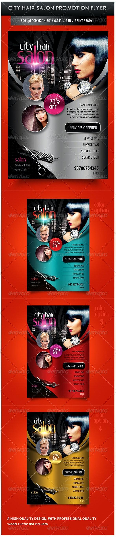 City Hair Salon Promotional Flyer - Miscellaneous Events