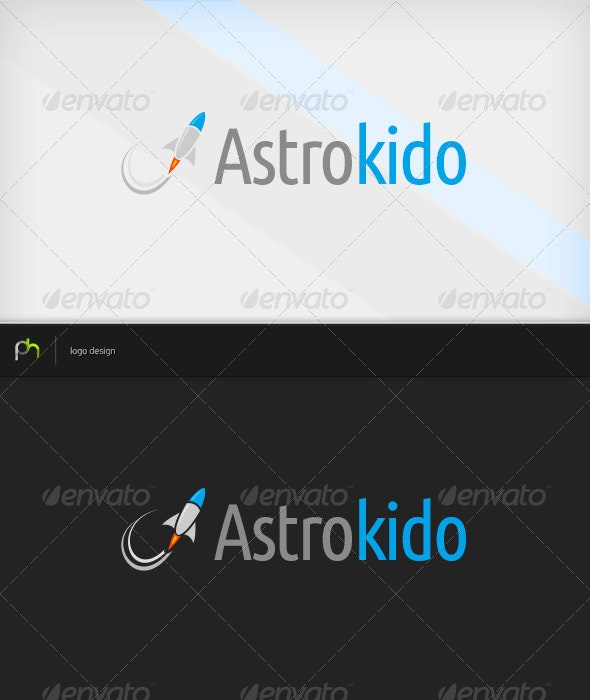Astro Kids - Objects Logo Templates
