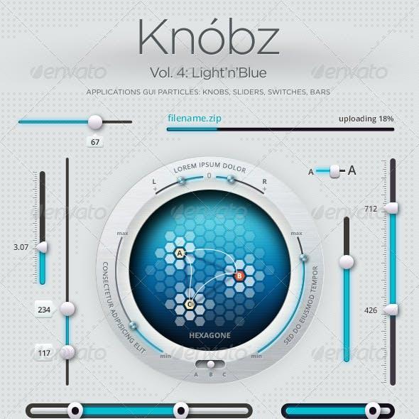 Edit Knóbz Vol.4: Light'n'Blue
