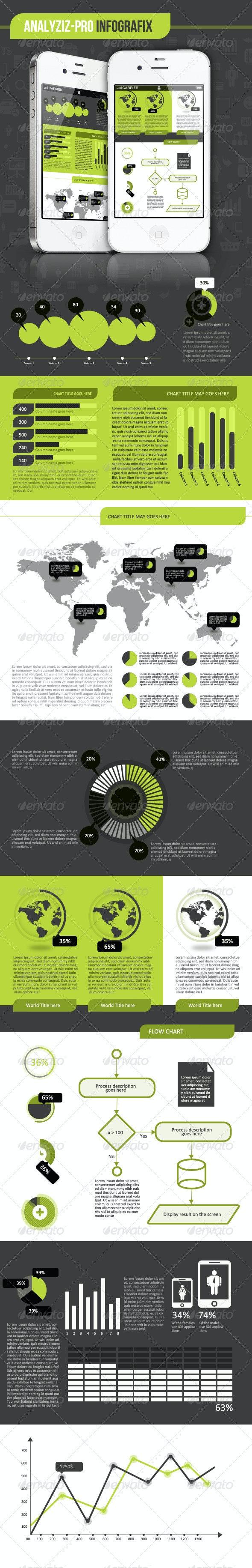 Infographics kit de Analyziz-pro - Infographics
