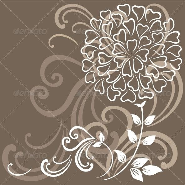 Floral Background - Backgrounds Decorative