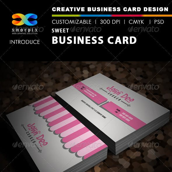 Sweet Business Card
