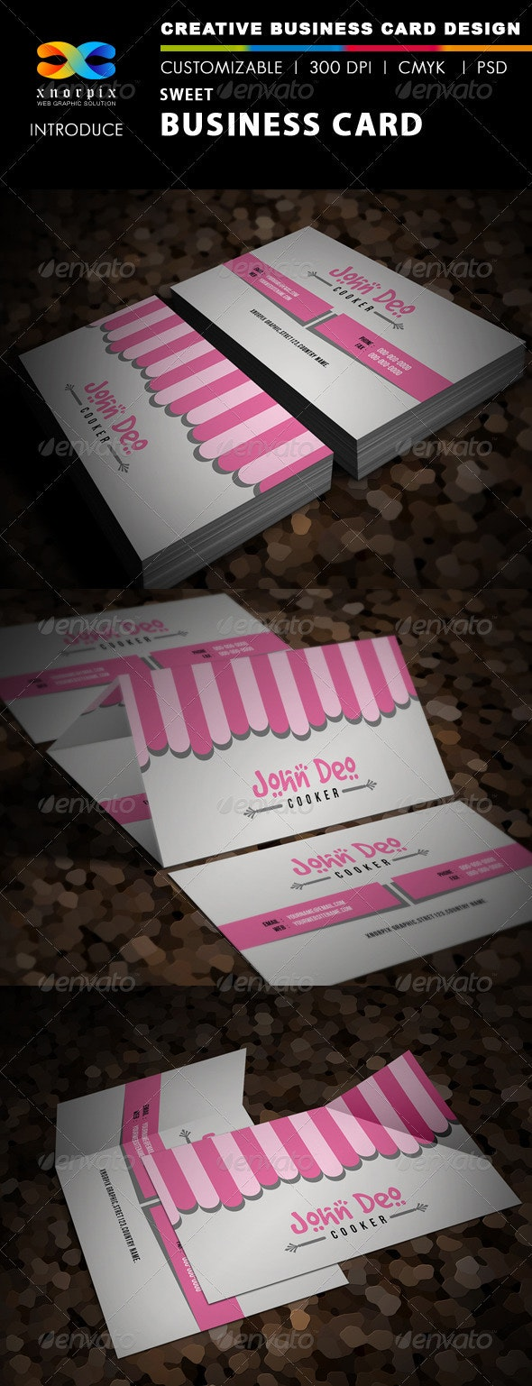 Sweet Business Card - Creative Business Cards