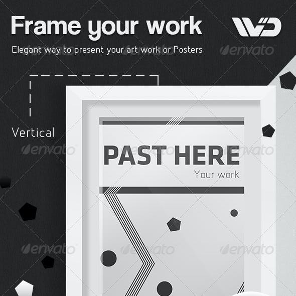 Frame your work