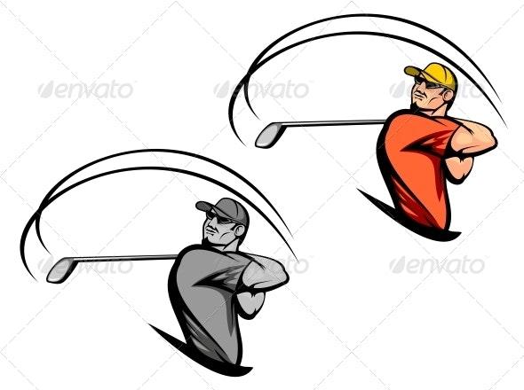Golf Player - Sports/Activity Conceptual