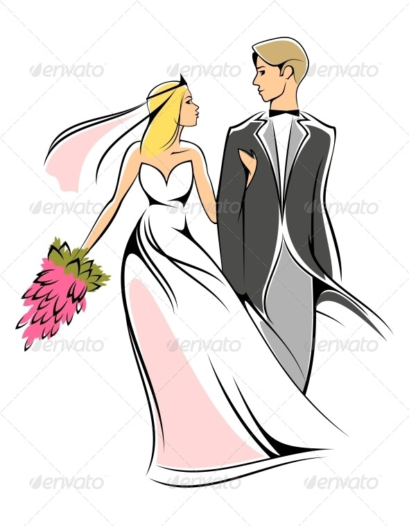 Bride and Groom - Weddings Seasons/Holidays