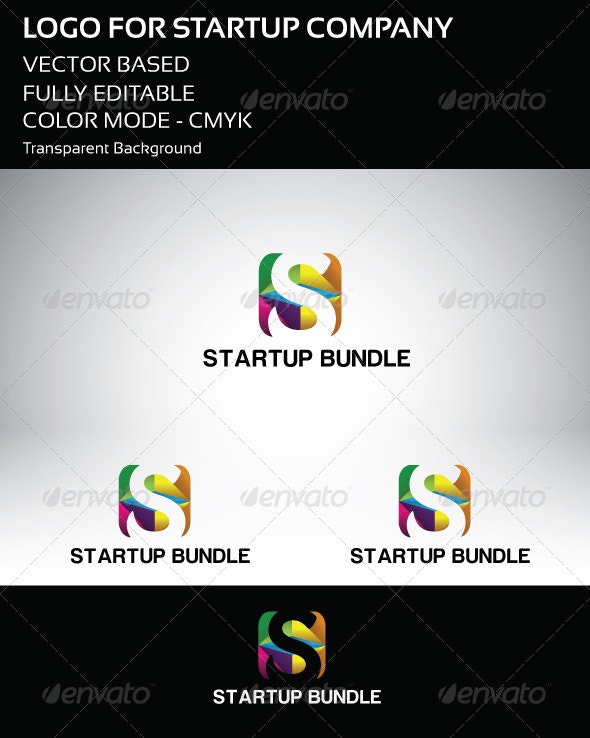 Startup Company Logo - Letters Logo Templates