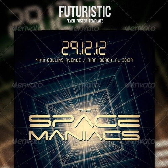 Futuristic Flyer / Poster 2