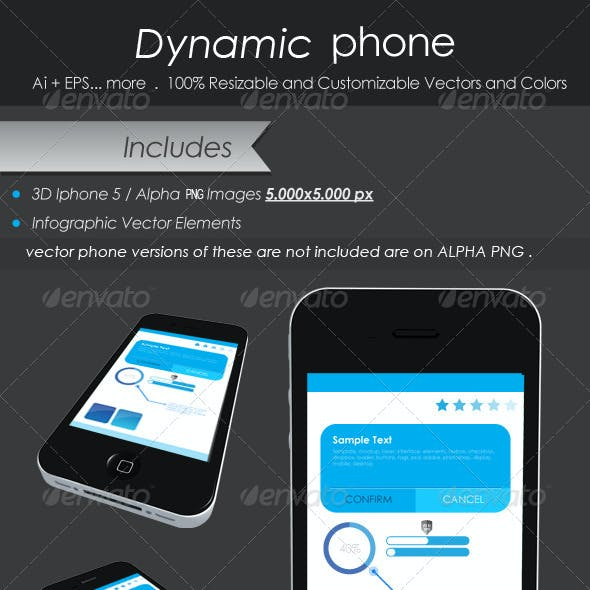 Dynamic Phone Infographic