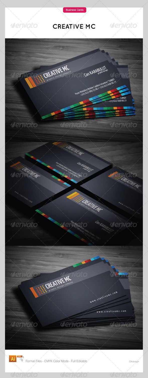 Corporate Business Cards 145 - Creative Business Cards