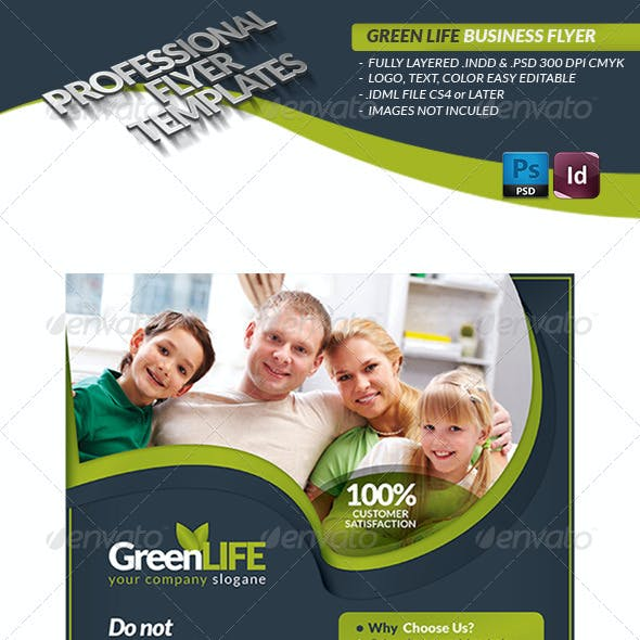 Green Life Business Flyer