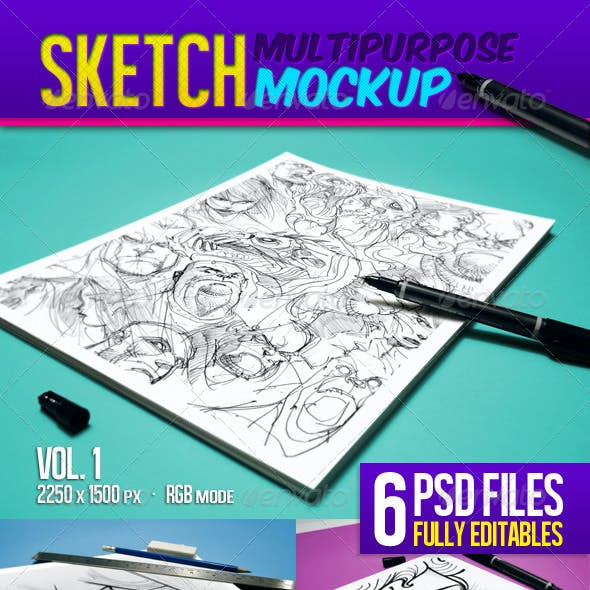 Sketch Multipurpose Mockup