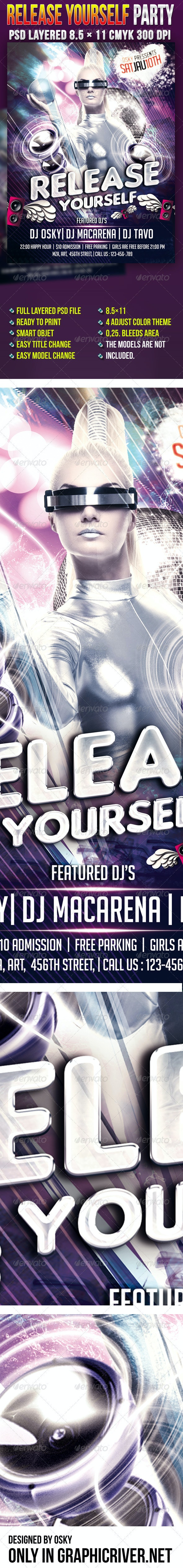 Release Yourself Party - Clubs & Parties Events