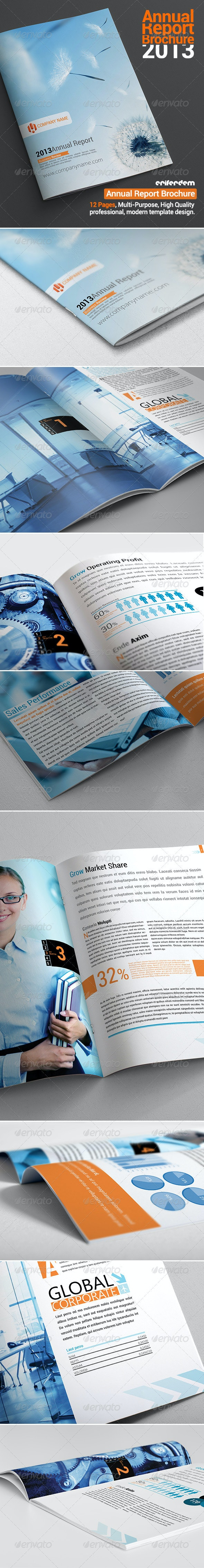 "Annual Report Brochure "" Grow "" - Corporate Brochures"