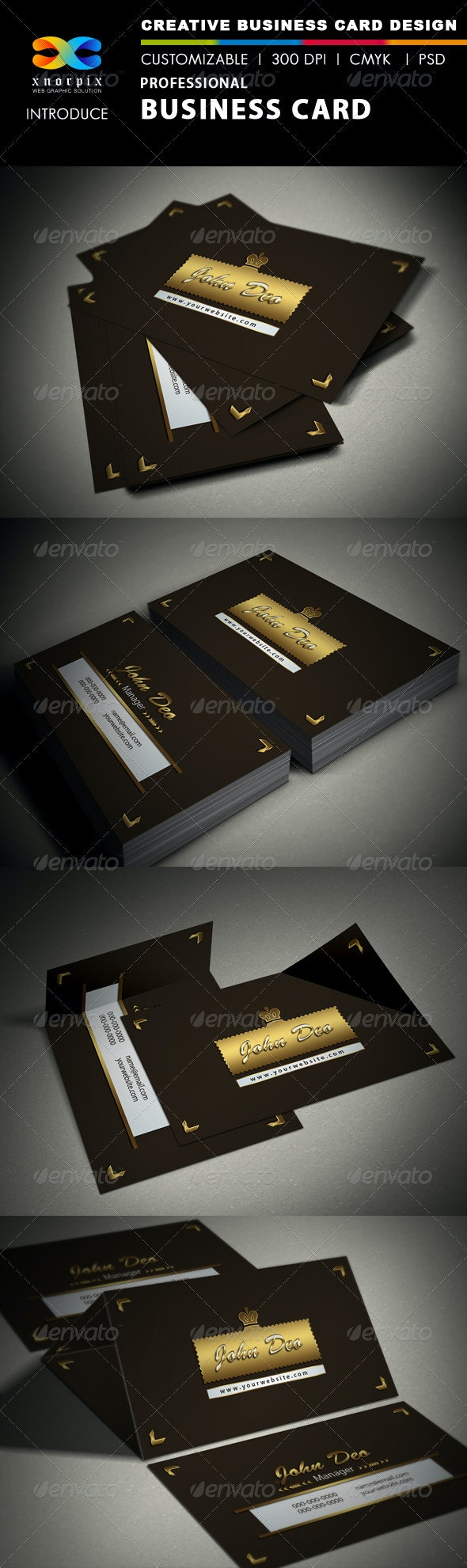 Professional Business Card - Creative Business Cards