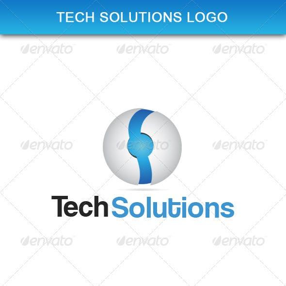 Tech Solutions Logo