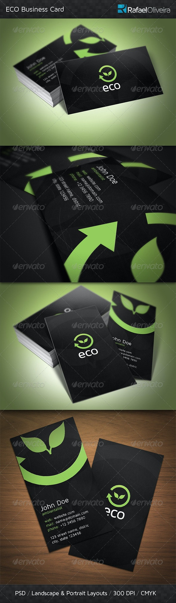 ECO Business Card - Corporate Business Cards