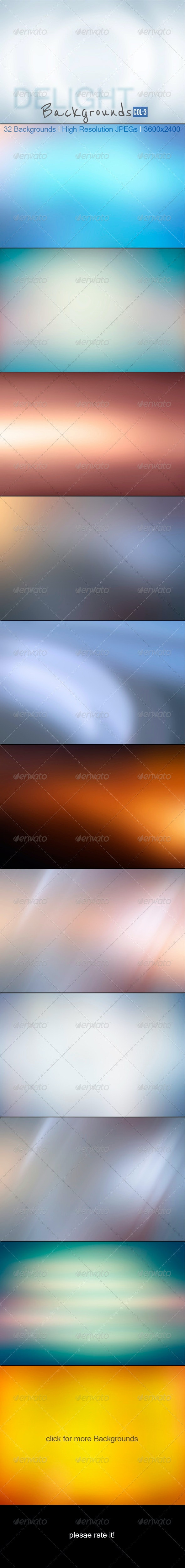Delight Backgrounds_Vol-3 - Backgrounds Graphics