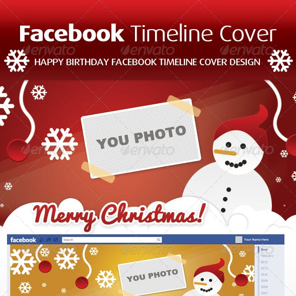Facebook Timeline and Facebook Timeline Cover Web Elements