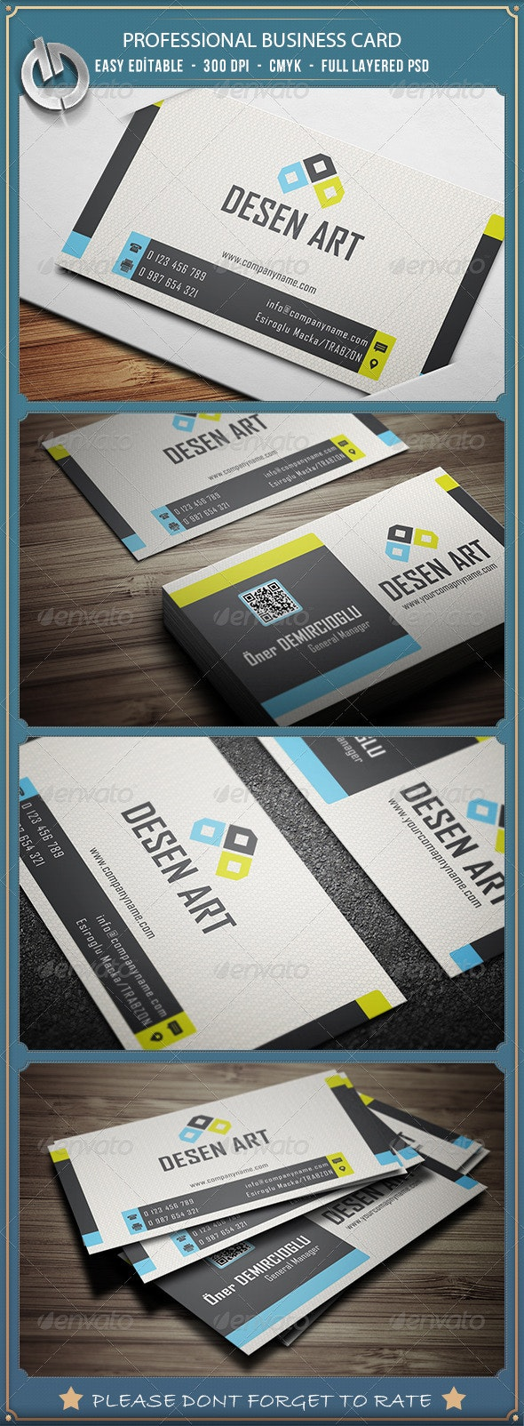 Professional  Business Card 4 - Creative Business Cards