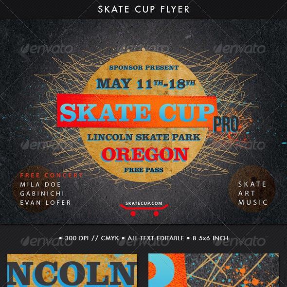 Skate Cup Flyer