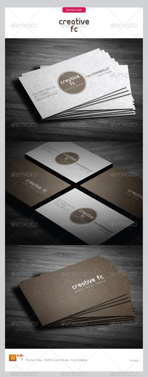 Corporate Business Cards 251 - Creative Business Cards