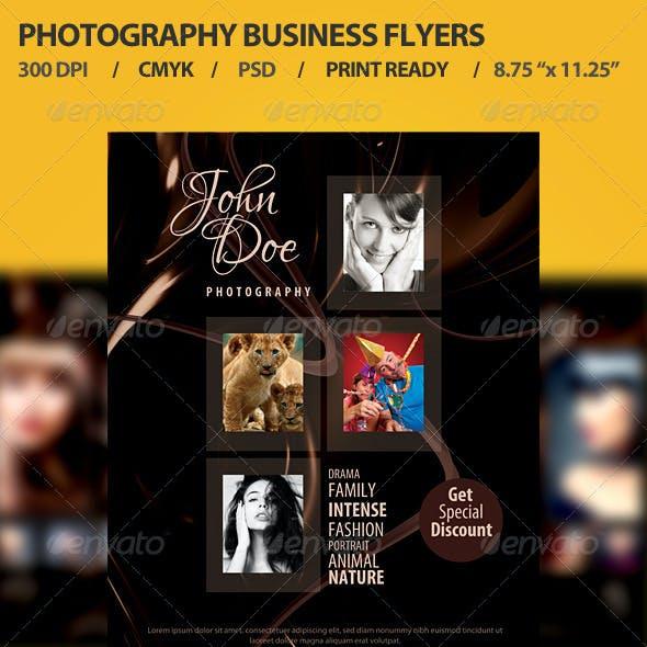 Photographer Promotion Business Flyer