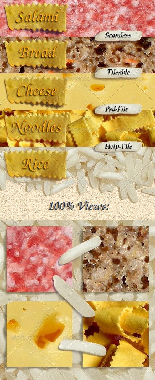 Food Textures Vol.1 - Miscellaneous Textures