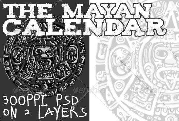 Mayan Calendar - Miscellaneous Illustrations