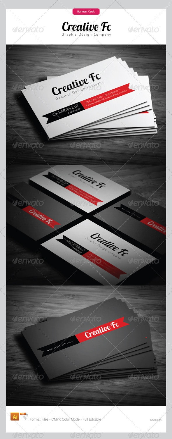 Corporate Business Cards 242 - Creative Business Cards