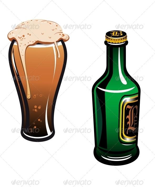 German Beer - Food Objects