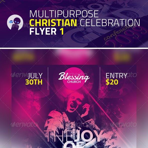 Multipurpose Christian Celebration Flyer 1