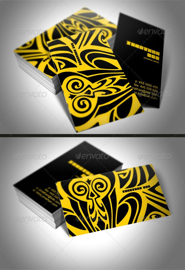 Creative Tiger Studio Business Card - Creative Business Cards