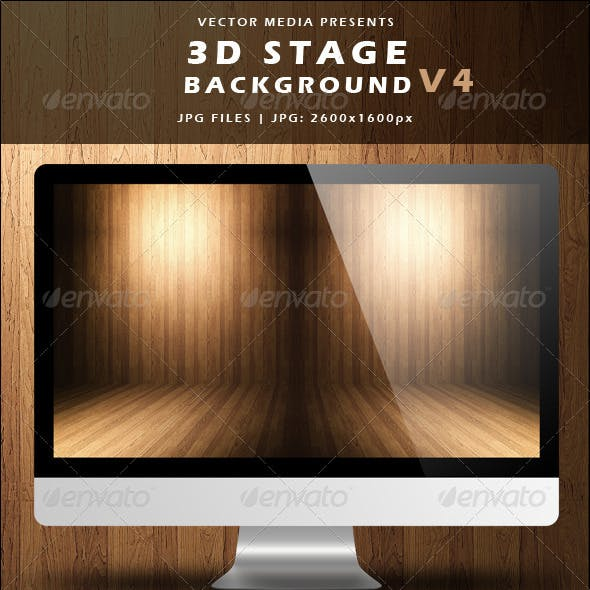 3D Stage Background - Vol.4