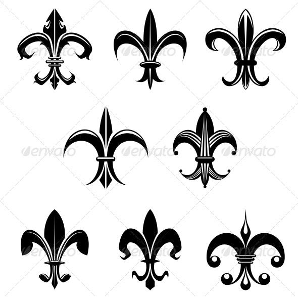 Royal Lily - Decorative Symbols Decorative