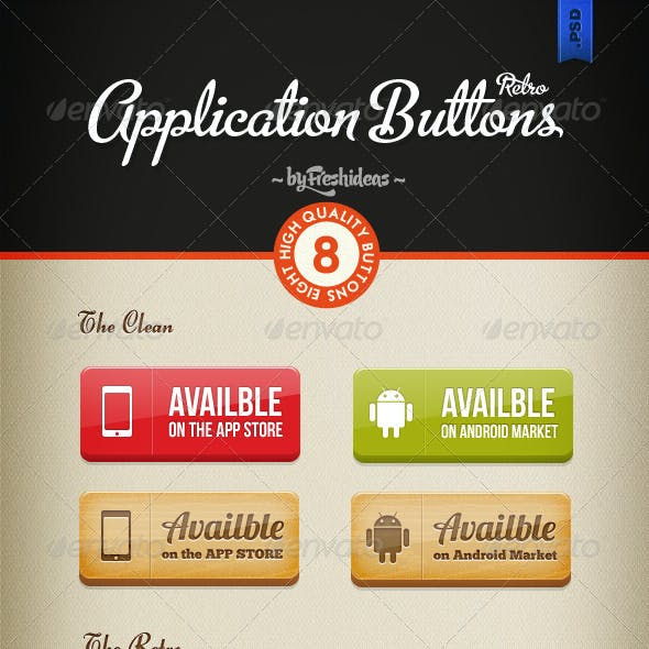Applications Button Set