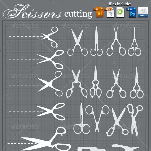 Scissors Cutting Set