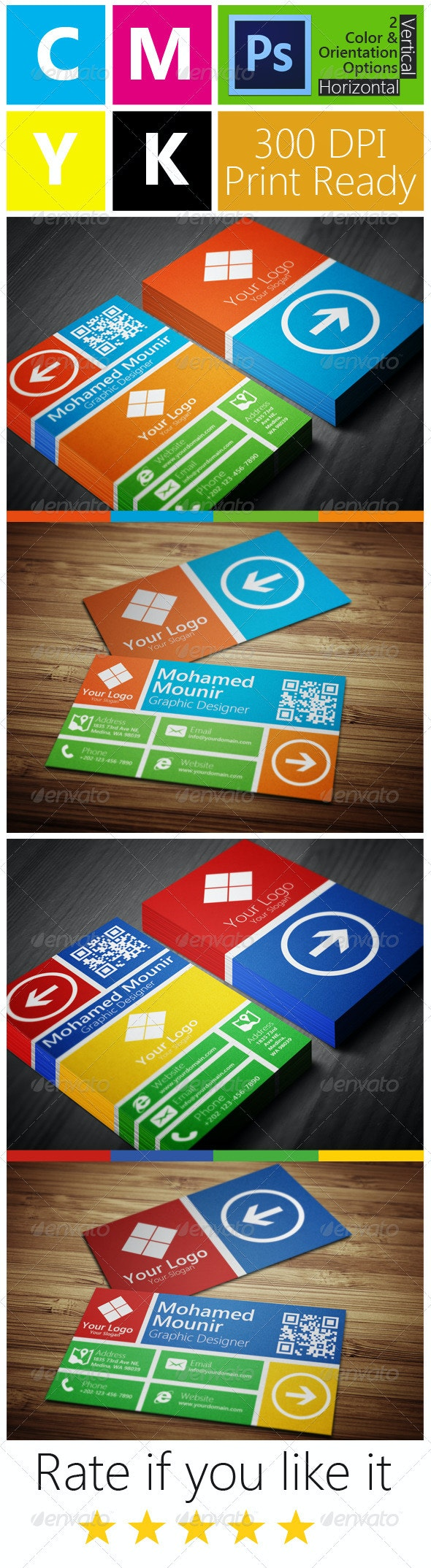 Metro Style Multipurpose Business Card - Creative Business Cards