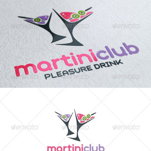 Martini Club Logo