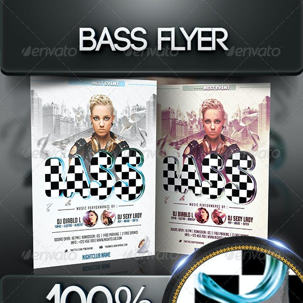 Bass Flyer Template